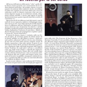 Segovia Guitar Week 2019